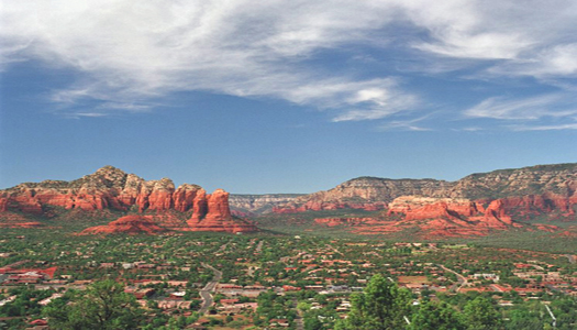 Airport Road in Sedona